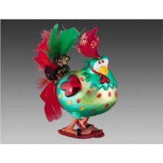 Ёлочное украшение Праздничный петух
