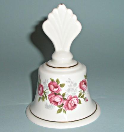 Фарфоровый колокольчик Песня роз