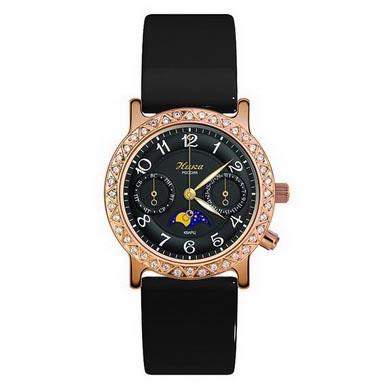 Женские золотые часы «Лунник»