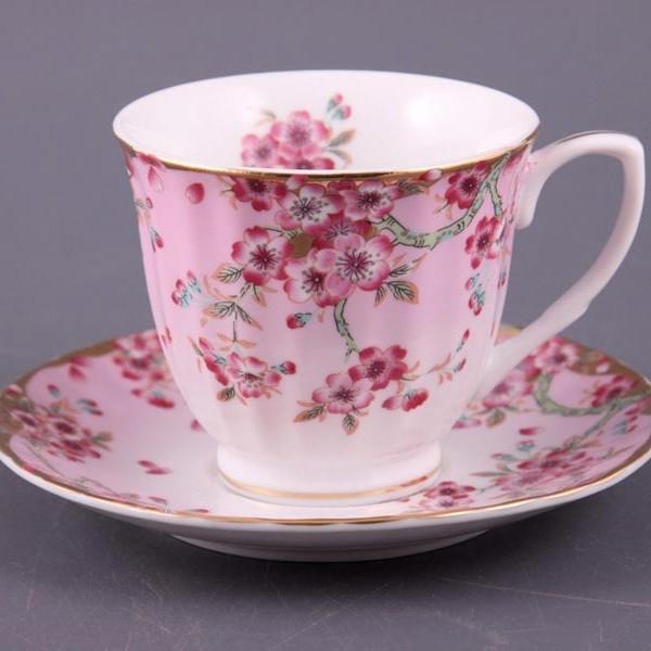 Чайный набор на 6 персон Цветочный