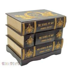 Шкатулка настольная Стопка книг