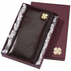 Женский кошелек «Счастливый клевер»