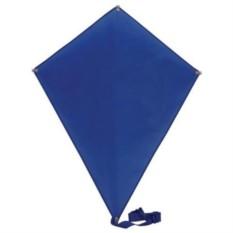 Синий воздушный змей Ромб