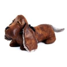 Коричневый стоппер для двери Собака