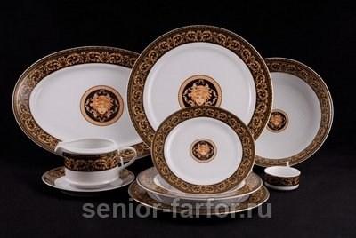 Столовый сервиз Leander – Сабина (Версаче) на 6 персон (24 предметов) 30407