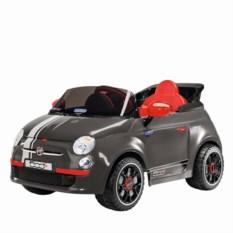 Детский электромобиль Fiat 500 S Grey R/C