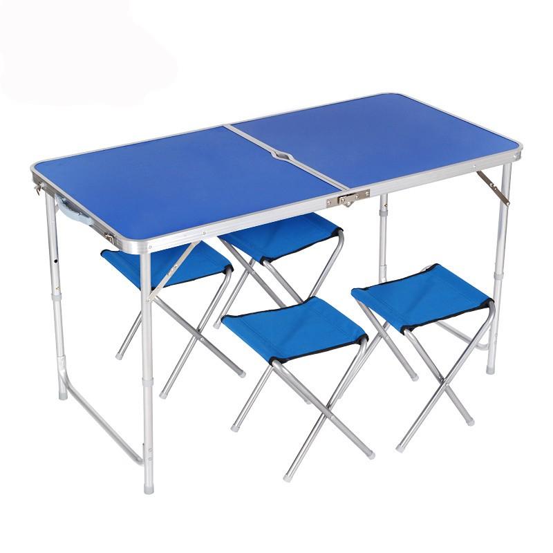 Набор мебели Mifine: стол и четыре стула