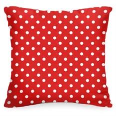 Декоративная подушка «В красный горошек»