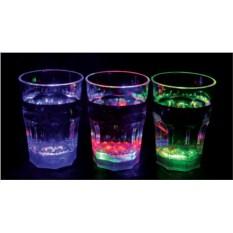 Hабор из 3 LED стаканов для соков