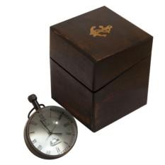 Часы-шар Хронос с декоративным компасом, стеклянные