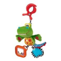 Мягкая игрушка-подвеска Крокодильчик