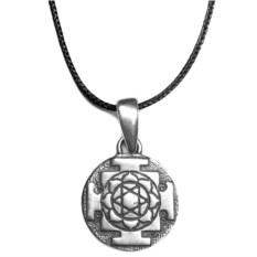Кулон Янтра Лакшми (серебро, 925 проба)