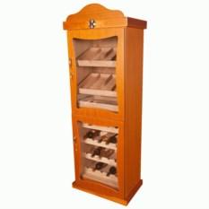 Элегантный классический шкаф для вина Teak