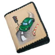 Обложка для автодокументов «Машинка»