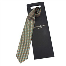 Пестрый мужской галстук Christian Lacroix