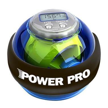 Кистевой тренажер Powerball Pro Blue, с подсветкой