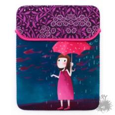 Чехол для планшета Девочка и зонтик