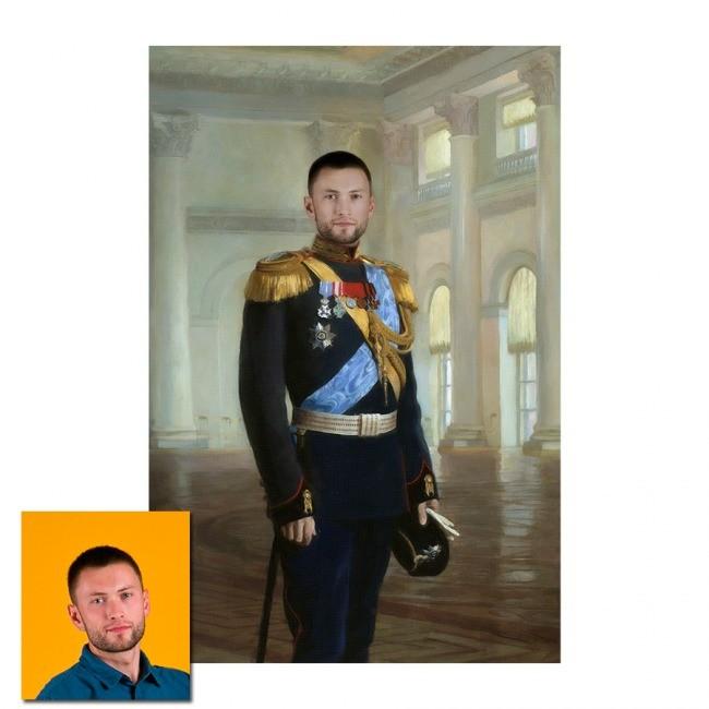 Портрет-монтаж Император