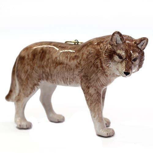 Елочная игрушка Волк (большой)