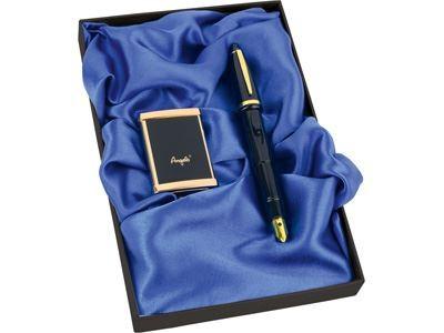 Подарочный набор: ручка-зажигалка, пепельница «Акра»