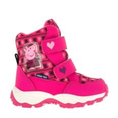Ярко-розовые сноубутсы Peppa Pig