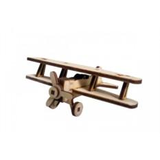 Деревянный 3D конструктор Lemmo Советский самолет