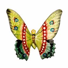 Настенное панно Желто-зеленая бабочка