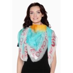 Женский шелковый платок Moschino