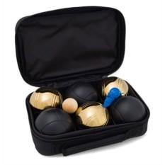 Игра Петанк (бочче) чёрный-золотой