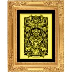 Картина из золота Скорпион