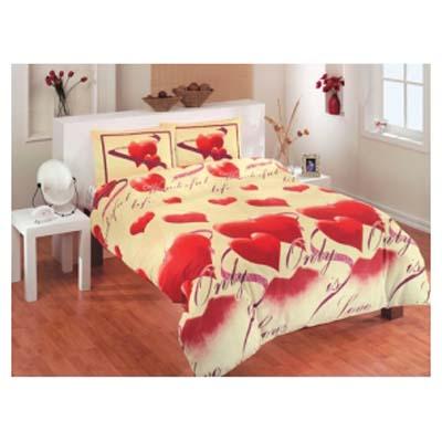 Двуспальное постельное белье LOVE