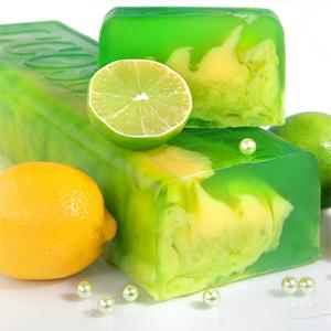 Мыло «Лимон и лайм»