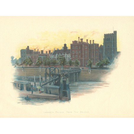 «Дворец Ламбет в Лондоне»