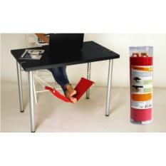 Гамак для ног под рабочий стол в тубусе RED