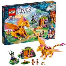 Конструктор Лавовая пещера дракона огня Lego Elves