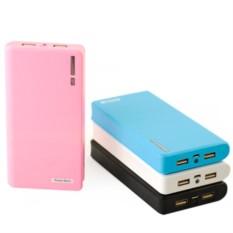 Розовый универсальный аккумулятор Power bank