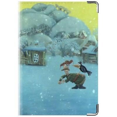 Обложка для паспорта «Падал снег»