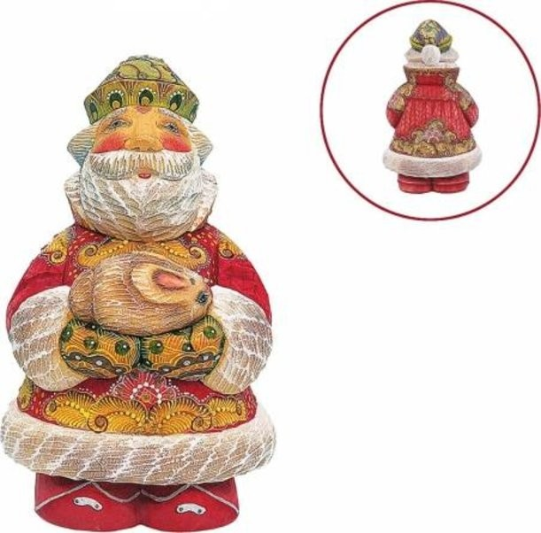 Новогодняя коллекционная игрушка Дед Мороз