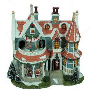 Новогодняя композиция «Дом»