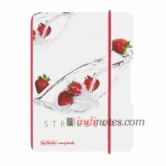 Тетрадь A6 Plastic Strawberry от Herlitz my.book Flex