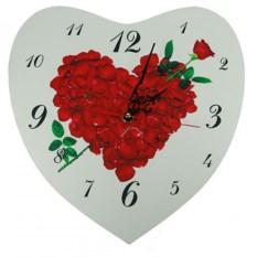 Настенные часы Букет роз