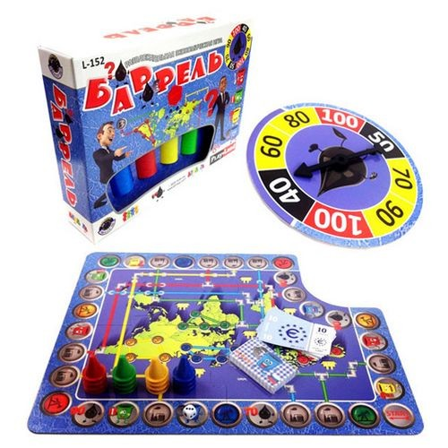 Настольная игра Баррель, PlayLand