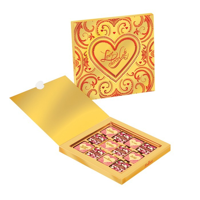 Шоколадный набор Романтические признания для женщин