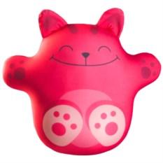 Игрушка-антистресс Кот Лучик розового цвета