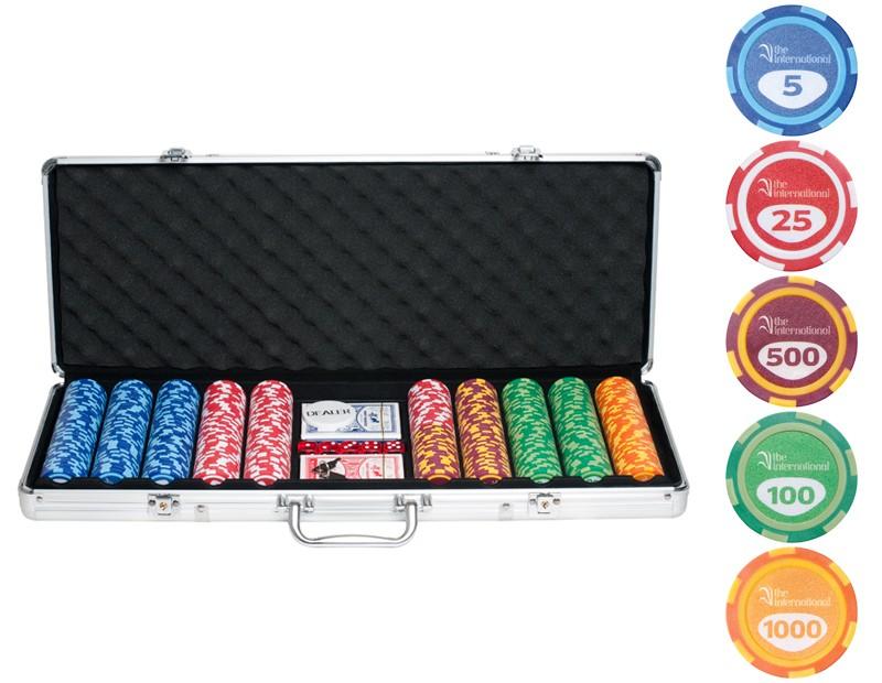 Набор для покера International на 500 фишек