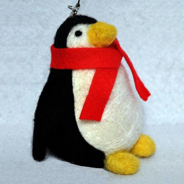 Набор для валяния из шерсти «Пингвин»