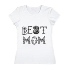 Женская футболка из хлопка Лучшая мама