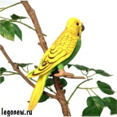 Мягкая игрушка Hansa Волнистый попугайчик