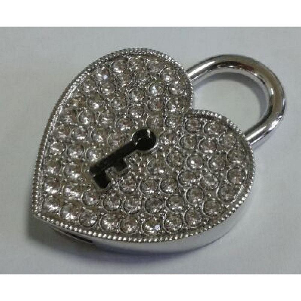 Флешка Замок в виде сердца 32 ГБ