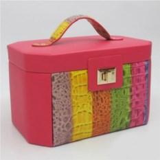 Разноцветная шкатулка, размер 30х19х10см